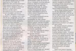Sınavlar ve Eğitimin Halleri / 2010
