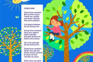GÜNEŞ ANNE / Okul İçin
