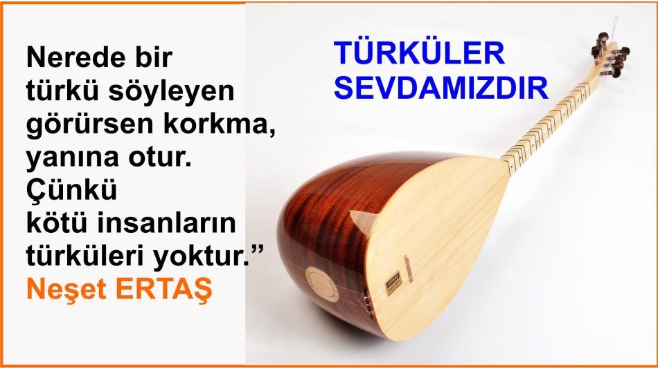 Türküler Sevdamızdır